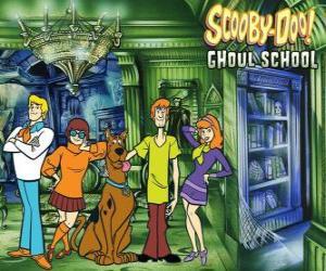 puzzel hoofdpersonen van Scooby-Doo