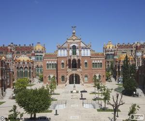 puzzel Hospital de Sant Pau, Barcelona