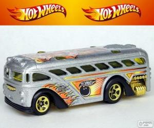 puzzel Hot Wheels bus