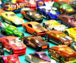 puzzel Hot Wheels cars