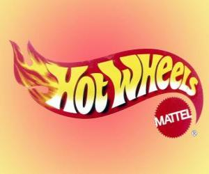 puzzel Hot Wheels logo van Mattel
