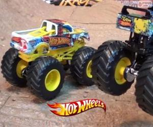 puzzel Hot Wheels Monster Jam