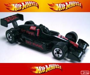 puzzel Hot Wheels racewagen