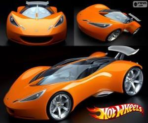 puzzel Hot Wheels sportwagen