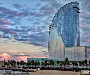 puzzel Hotel W Barcelona