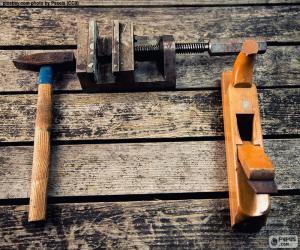 puzzel Houtbewerking tools