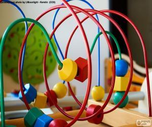 puzzel Houten en metalen speelgoed