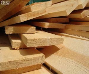 puzzel Houten planken