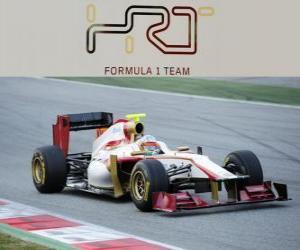 puzzel HRT F112 - 2012 -