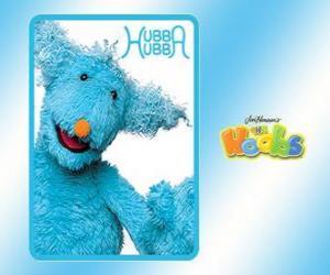 puzzel Hubba Hubba is de Hoob dat de Hoobopaedia maakt in Hoobland