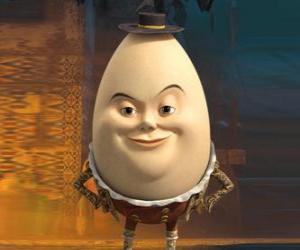 puzzel Humpty Dumpty, oude vriend van De Gelaarsde Kat