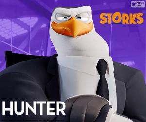 puzzel Hunter, Ooievaars