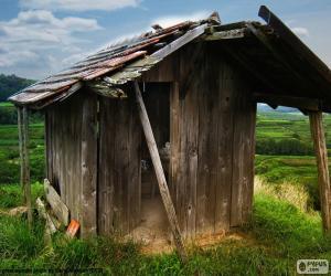 puzzel Hut