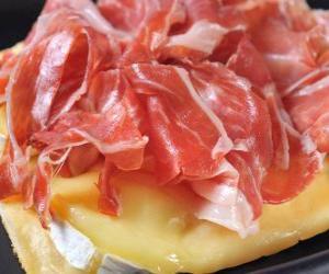 puzzel Iberische ham