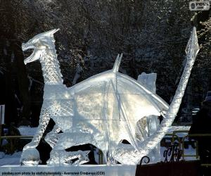 puzzel Ijs dragon