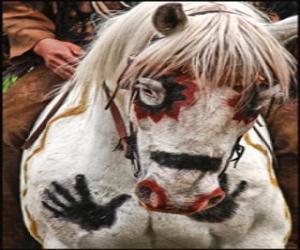 puzzel Indische paard
