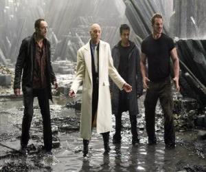 puzzel Industriële miljonair Lex Luthor, die afgunst en haat de dood, de grootste schurk. Hij werd president van de Verenigde Staten.
