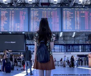 puzzel Informatie paneel Airport