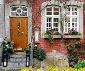 puzzel Ingang van een huis