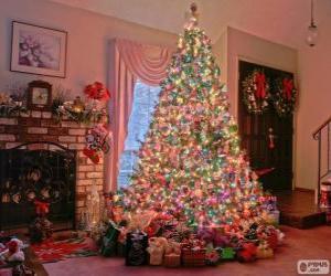 puzzel Ingerichte Kerstmis spar