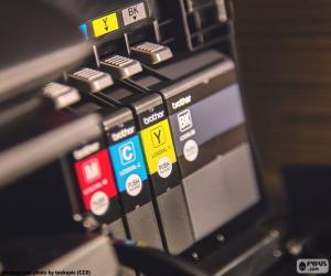 puzzel Inkt voor printer