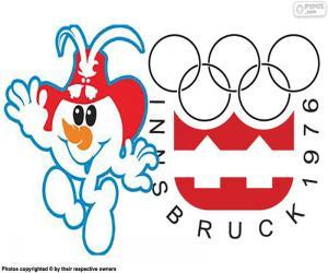puzzel Innsbruck Olympische Winterspelen 1976