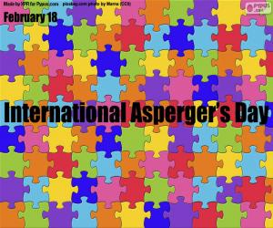 puzzel Internationale Aspergerdag