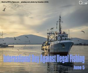 puzzel Internationale dag tegen illegale visserij
