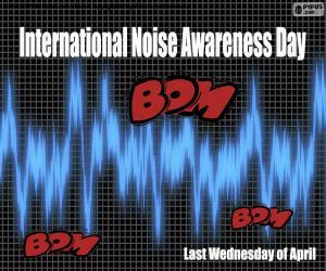 puzzel Internationale Dag van het Lawaaibewustzijn