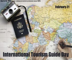 puzzel Internationale Gidsendag voor toerisme