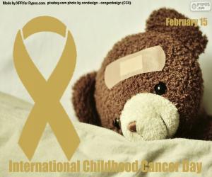puzzel Internationale Kinderkankerdag