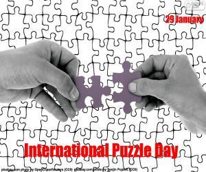 puzzel Internationale puzzel dag