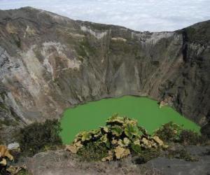 puzzel Irazu vulkaan, Chili