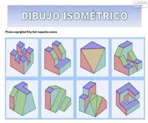 puzzel Isometrische tekeningen