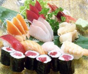 puzzel Japanse keuken Sushi