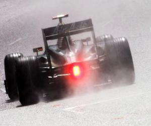 puzzel Jarno Trulli - Lotus - Spa-Francorchamps 2010
