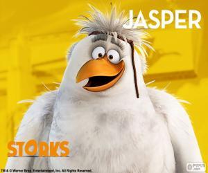 puzzel Jasper, Ooievaars