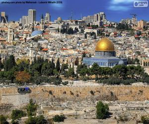 puzzel Jerusalem, Israël