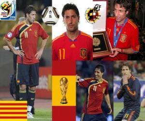 puzzel Joan Capdevila (De onbrandbaar) Spaanse team de verdediging