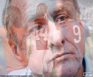 puzzel Johan Cruyff (1947-2016)