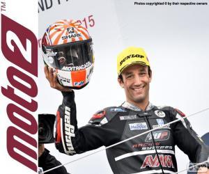 puzzel Johann Zarco, Moto2 2015