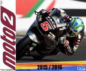 puzzel Johann Zarco, Moto2 2016