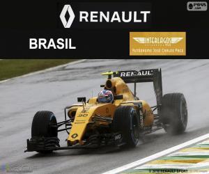 puzzel Jolyon Palmer, Grand Prix van Brazilië 2016