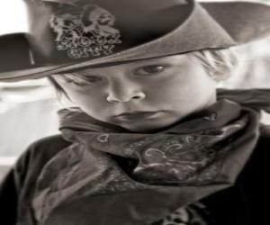 puzzel Jonge Cowboy