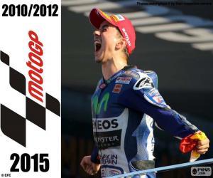 puzzel Jorge Lorenzo, MotoGP 2015