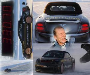 puzzel Juha Kankkunen, ijs snelheidsrecord