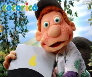 puzzel Julio, de jongen uit de Cocoricó Farm