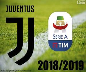 puzzel Juve, kampioen 2018-2019