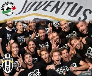 puzzel Juventus kampioen 2013-20014