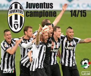 puzzel Juventus kampioen 2014-20015